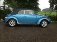 kever cabrio 1303 blauw metallic