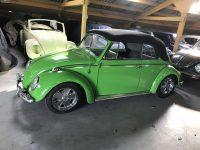 kever cabrio 1966 groen mooie staat