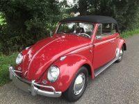 kever cabrio 1964 als nieuw