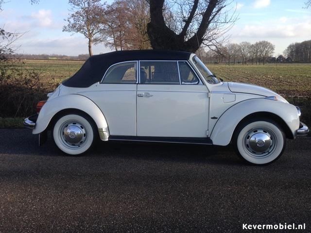 VW Kever cabrio 1303 LS te huur