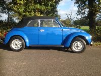 Käfer cabrio 1303 blau body off restauriert verkauft