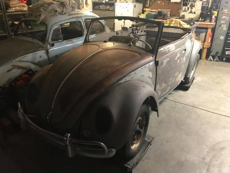 Käfer Cabrio 1963