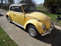 kever cabrio 1966 yuckon yellow komt 10 september binnen
