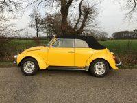 kever cabrio 1303 geel