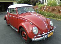 Käfer Cabrio 1962 zu verkaufen kommt 9-9 rein