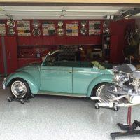 Käfer cabrio 1966 body off restaurierd kommt noch rein