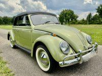 Volkswagen Kever Cabriolet 1965 body off gerestaureerd nieuw binnen