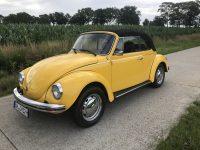 kever cabrio 1303 geel verkocht