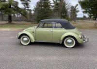 Volkswagen Kever Cabriolet 1965 body off gerestaureerd