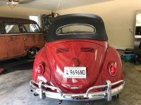Kafer Cabrio 1962 body off restauriert (kommt noch rein)