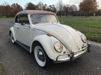 kever cabriolet 1200 uit 1964 vanilla wit