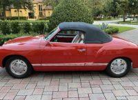 Karmann Ghia Cabrio te koop