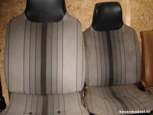 Kever stoelen voor 1303 tot 1974 stoelverstelling naast versnellingspook